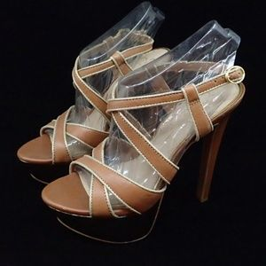 Jessica Simpson Brown Stiletto Heels 5.5 - New